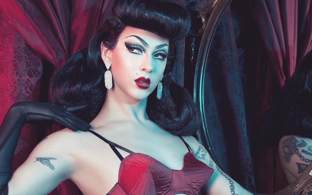 Drag Queen Communication digitale Reseaux sociaux Violet chachki, icone Prada