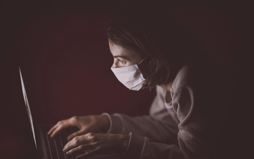 coronavirus, masque, virus, maladie, pandémie