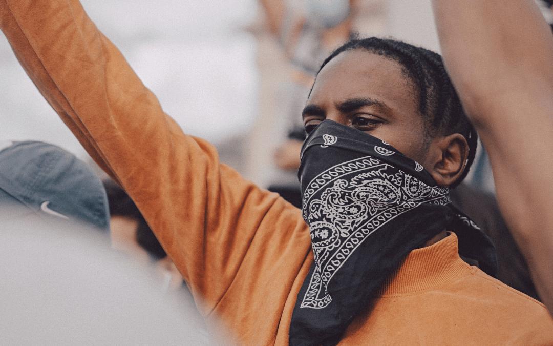 lutte, racisme, manifestation